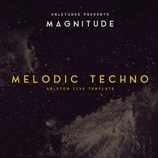 "MelodicTechno风格Ableton Live工程模版""Magnitude""|Abletunes厂牌出品"